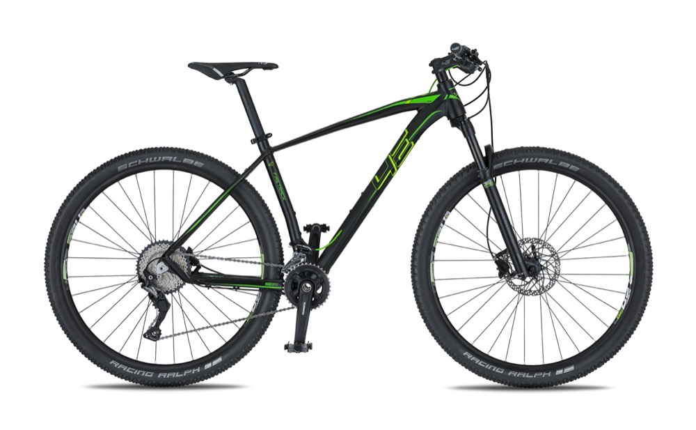 Horské kolo 4EVER FIRETRACK 29 2020 black/green
